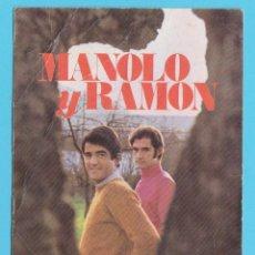 Fotos de Cantantes: MANOLO Y RAMÓN EN DISCOS VERGARA. ELLA SE VA, EL BASTÓN DEL ABUELO. DÚO DINÁMICO. Lote 175991049