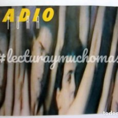 Fotos de Cantantes: RADIO FUTURA, ESCUELA DE CALOR. CARTEL ORIGINAL PROMOCIONAL DE 1984. 98 X 68 CMS.. Lote 176032897