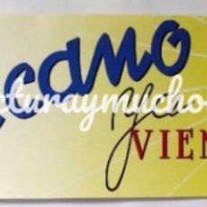 Fotos de Cantantes: MECANO, YA VIENE EL SOL (1984). HISTÓRICO CARTEL PROMOCIONAL DEL ÁLBUM. 60X20 CMS.. Lote 176033128