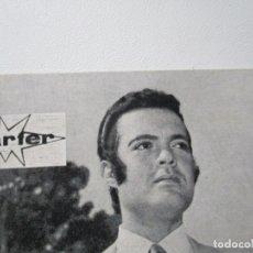 Fotos de Cantantes: FOTO POSTAL DE PEDRITO RICO MARTER- CON FIRMA-1970-ARTISTA EXCLUSIVO DE DISCOS MARTER. Lote 176282383