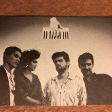 Fotos de Cantantes: VOCODER. CALENDARIO PROMOCIONAL DISCOGRÁFICA DRO DEL AÑO 1986. 6,3 X 9,3 CMS.. Lote 176937747