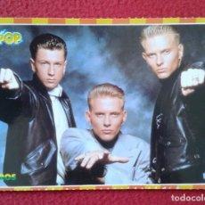Fotos de Cantantes: POSTAL POST CARD POSTCARD GRUPO MÚSICA BROS BROSS BROS-23 PÓSTER-POSTAL ADHESIVA STICKER SUPER POP. Lote 176965408