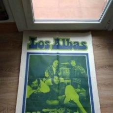 Fotos de Cantantes: CARTEL ORIGINAL DE EPOCA LOS ALBAS BELTER AÑOS 60. Lote 177302650