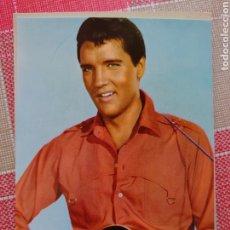 Photos de Chanteurs et Chanteuses: ELVIS PRESLEY POSTAL 10 X 15 CTMS HECHA EN ESPAÑA.. Lote 177841128