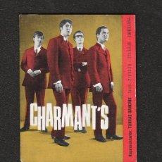 Fotos de Cantantes: BEATLES: CHARMANT'S IMPRESIONANTE POSTAL POP ESPAÑOL DE LOS 60'S- CURIOSA YE YE -BARCELONA 64'. Lote 177935898
