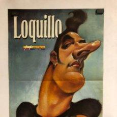 Fotos de Cantantes: LOQUILLO. POSTER CARICATURA DE LA REVISTA EL JUEVES. VIZCARRA 1996. 28 X 41,5 CMS.. Lote 178249846