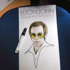 Fotos de Cantantes: ELTON JOHN CALENDARIO PROMOCION DIGIPACK UNIVERSAL RECORDS ESPAÑA NUEVO Y COMPLETO MARAVILLA. Lote 178755770