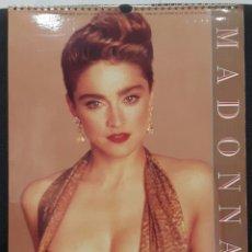 Fotos de Cantantes: MADONNA - 1991 CALENDAR - CULTURE SHOCK - REINO UNIDO - PRECIOSO - NO CORREOS. Lote 178794991