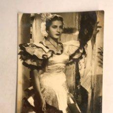 Fotos de Cantantes: JUANITA REINA. POSTAL FOTOGRAFÍCA NO.156. EDITA: JDP. SIN CIRCULAR, COMO NUEVA (H.1950?). Lote 178824168