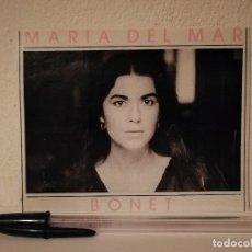 Fotos de Cantantes: TARJETA PAPEL GRUESO -9*13- MARIA DEL MAR BONET. Lote 179210311