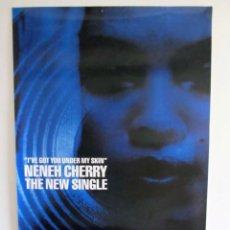 Fotos de Cantantes: NENEH CHERRY, I'VE GOT YOU UNDER MY SKIN (1990). CARTEL PROMOCIONAL DEL SINGLE.. Lote 183344971