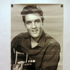 Fotos de Cantantes: ELVIS. ANTIGUO CARTEL DEL REY DEL ROCK AND ROLL.. Lote 183406151