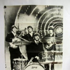 Fotos de Cantantes: THE BEATLES. PRECIOSO CARTEL DE LA BANDA DE LIVERPOOL.. Lote 183795287