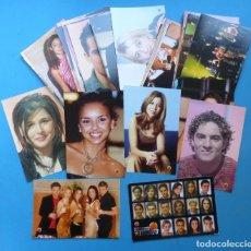 Fotos de Cantantes: 62 FOTO-POSTALES OPERACION TRIUNFO 2001 - DAVID BISBAL, BUSTAMANTE, CHENOA, ROSA, NURIA FERGO .... Lote 184908338