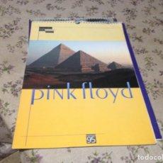 Fotos de Cantantes: PINK FLOYD - CALENDARIO VINTAGE AÑO 1995 A TODO COLOR. TAMAÑO 43X30 Y 14 HOJAS. EXCELENTE. Lote 187206345