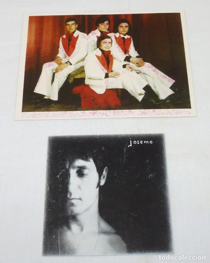 Fotos de Cantantes: Lote de 6 tarjetas promocionales de grupos. - Foto 4 - 187442600