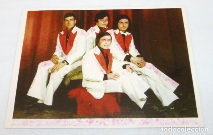 Fotos de Cantantes: Lote de 6 tarjetas promocionales de grupos. - Foto 5 - 187442600