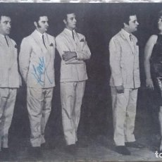 Fotos de Cantantes: LOS WAIKA, FOTOGRAFÍA DEL GRUPO CON AUTÓGRAFO, REVERSO CANCIÓN MENTIROSA CON DEDICATORIA.. Lote 189925711