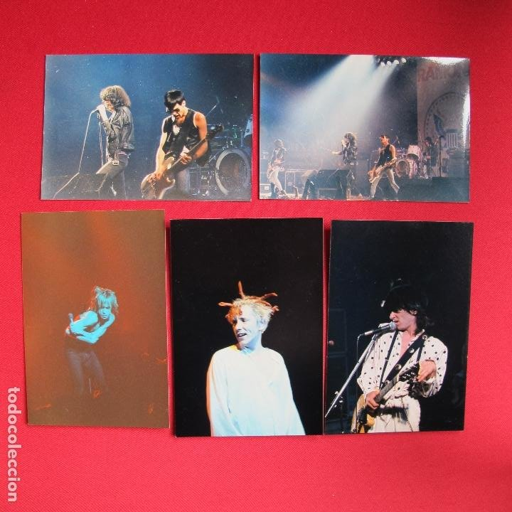 FOTOGRAFÍAS SEX PISTOLS, JOHNNY THUNDERS, RAMONES, IGGY POP (Música - Fotos y Postales de Cantantes)