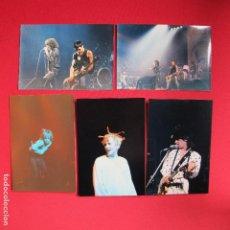 Fotos de Cantantes: FOTOGRAFÍAS SEX PISTOLS, JOHNNY THUNDERS, RAMONES, IGGY POP. Lote 190138420