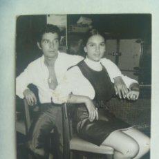 Fotos de Cantantes: FOTO ORIGINAL DEL BAILAO FLAMENCO PEPE MARCHENA CON AMIGA. DE FOTO TONY , PUERTO DE LA CRUZ ... Lote 191901848