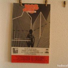 Fotos de Cantantes: YES RICK WAKEMAN CARTEL ORIGINAL GIRA TOUR 1977 ALEMANIA 68X42. Lote 193412295