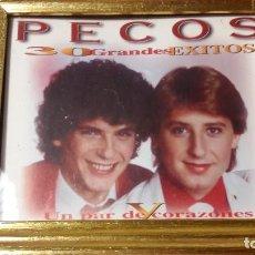 Fotos de Cantantes: FOTO PROMOCIONAL DE LOS PECOS - ENMARCADA - AÑOS 75-80 - IDEAL COLECCIONISTAS. Lote 193634157