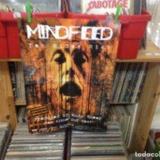 Fotos de Cantantes: MINDFEED POSTER PROMO ALBUM 'TEN MILES HIGH' 42X54+CD GIFT VARIOUS. Lote 193722287