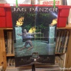 Fotos de Cantantes: JAG PANZER - PROMO POSTER 1998 ALBUM 'HE FOURTH JUGEMENT' 60X42+CD GIFT. Lote 193722935