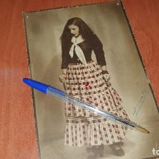 Fotos de Cantantes: PRECIOSA FOTOGRAFIA DE LA CUPLETISTA DIANA MARQUEZ ADOLESCENTE. Lote 194341708