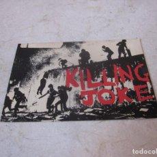 Fotos de Cantantes: POSTAL KILLING JOKE. Lote 194360105