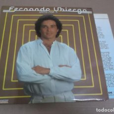 Fotos de Cantantes: FERNANDO UBIERGO (LP) CANTO POR TI AÑO – 1982 – HOJAS PROMOCIONALES. Lote 194538527