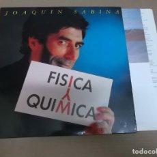 Fotos de Cantantes: JOAQUIN SABINA (LP) FISICA Y QUIMICA AÑO – 1992 – ENCARTE CON LETRAS + HOJA CON CREDITOS. Lote 194538586