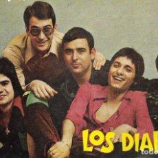 Fotos de Cantantes: FOTO PROMOCIONAL GRUPO LOS DIABLOS - EMI ODEÓN AÑO 1972. Lote 194617470