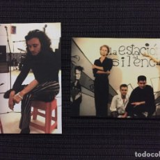 Fotos de Cantantes: POSTAL 2 POSTALES ORIGINALES HEROES DEL SILENCIO 10X15 CM. Lote 194625000