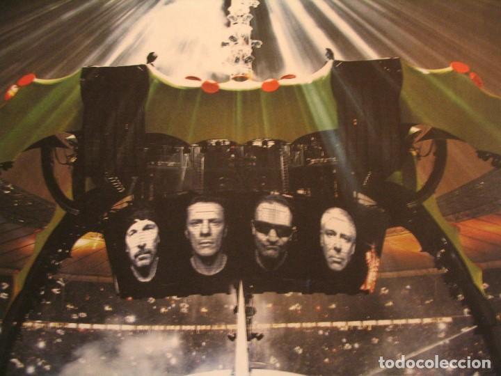 Fotos de Cantantes: U2 360 TOUR CARTEL ORIGINAL GIRA TOUR 2010 SAN SEBASTIAN 140X100 - Foto 3 - 194859350