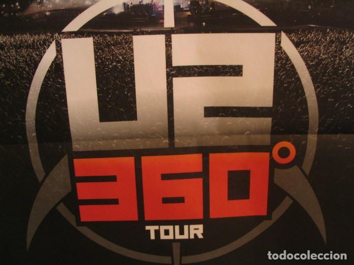 Fotos de Cantantes: U2 360 TOUR CARTEL ORIGINAL GIRA TOUR 2010 SAN SEBASTIAN 140X100 - Foto 4 - 194859350