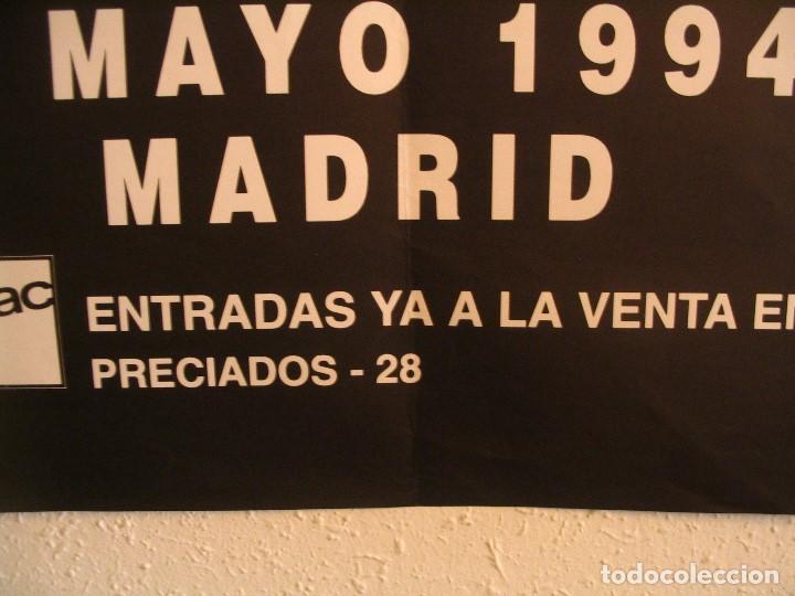 Fotos de Cantantes: PHIL COLLINS EN CONCIERTO CARTEL ORIGINAL GIRA TOUR 1994 MADRID 68x100 - Foto 4 - 194862897
