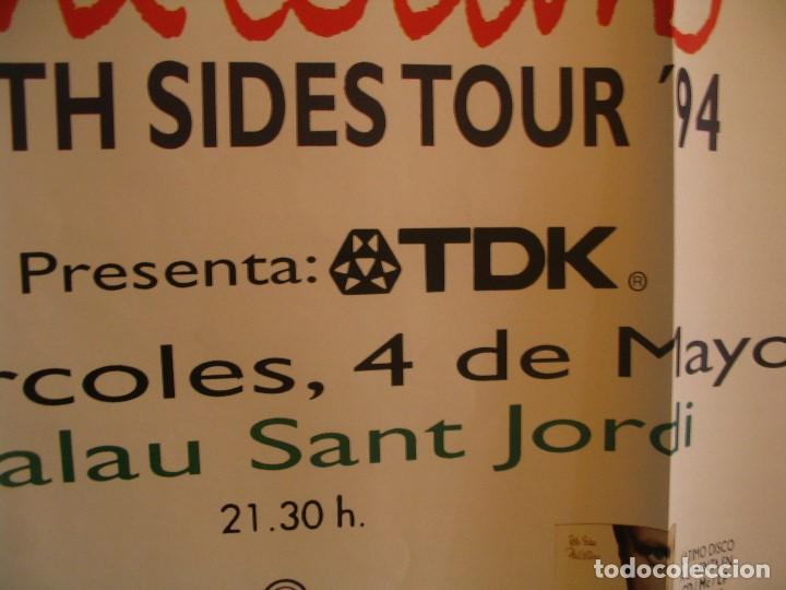 Fotos de Cantantes: PHIL COLLINS BOTH SIDES CARTEL ORIGINAL GIRA TOUR 1994 BARCELONA 90X130 - Foto 4 - 194863010