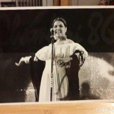 Fotos de Cantantes: NATI MISTRAL CANTANTE Y ACTRIZ / IGNORO LUGAR Y FECHA. Lote 195051728