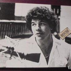 Fotos de Cantantes: ANTIGUA FOTOGRAFIA CANTANTE RICHARD COCCIANTE 24X18 CM. . Lote 195262452
