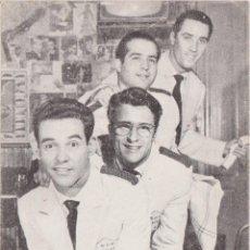 Fotos de Cantantes: GRUPO MUSICAL, LOS 4 BARMANS - ARTISTAS BELTER. Lote 195422267