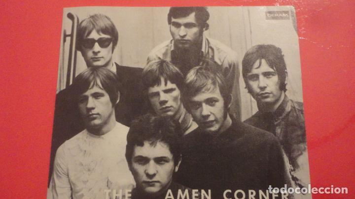 ANTIGUA POSTAL.GRUPO MUSICAL THE AMEN CORNER. DERAM COLUMBIA 1968 (Música - Fotos y Postales de Cantantes)