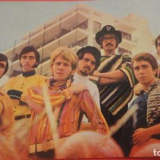Fotos de Cantantes: ANTIGUA POSTAL.GRUPO MUSICAL LOS CANARIOS.SONO PLAY 1967. TUCA SALVAGO S,A. SEVILLA. Lote 195429586