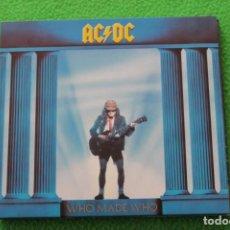 Fotos de Cantantes: FUNDA DIGIPACK AC/DC- WHO MADE WHO(SOLO FUNDA). Lote 195436953