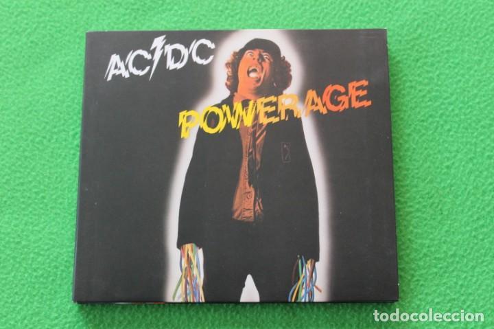 FUNDA DIGIPACK AC/DC- POWERAGE(SOLO FUNDA) (Música - Fotos y Postales de Cantantes)
