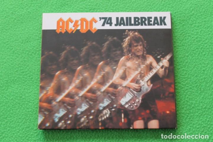 FUNDA DIGIPACK AC/DC- ´74 JAILBREAK(SOLO FUNDA) (Música - Fotos y Postales de Cantantes)