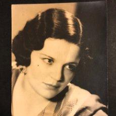 Fotos de Cantantes: FOTO ORIGINAL DE LA CANTANTE ARGENTINA DE TANGOS AZUCENA MAIZANI.ANNEMARIE HEINRICH BUENOS AIRES. Lote 195518842