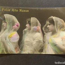 Fotos de Cantantes: FELIZ AÑO NUEVO-TRIO DELMONTE-POSTAL FOTOGRAFICA LB BARTRINA-VER FOTOS-(68.692). Lote 196911563