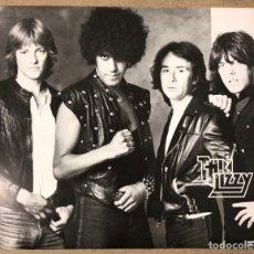 Fotos de Cantantes: THIN LIZZY. FOTOGRAFÍA PROMOCIONAL FE LOS AÑOS 80.. Lote 197415502